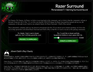 how to delete razer surround pro