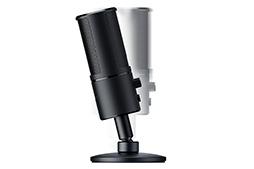 画像 (006) Razer , 背面 に 8 × 8 ド ッ ト の LED デ ィ ス プ レ イ を 備 え た 「魅 せ る」 マ マ イ 「「 Siren Emote 」を 発 表