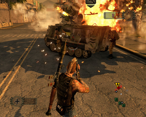 001 Mercenaries 2 World In Flames USA [ XBOX360 ]
