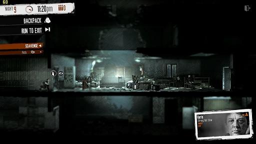 インディーズゲームの小部屋:Room#357「This War of Mine」