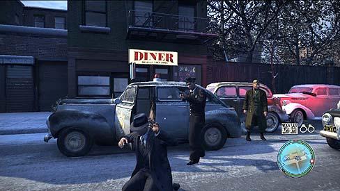 マフィアゲーム画面