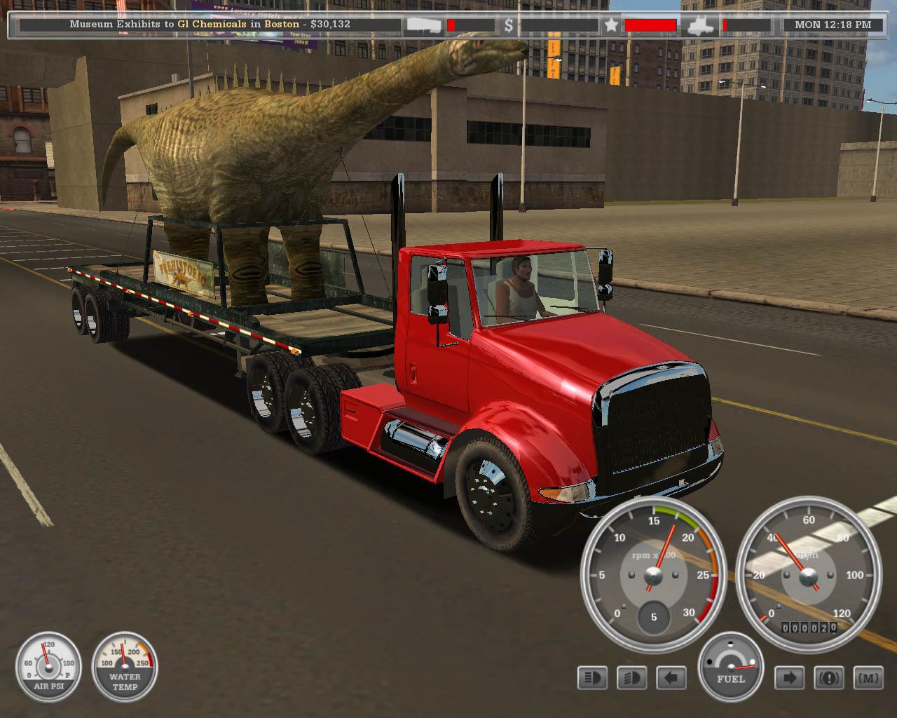 18 wheels of steel american long haul free online game