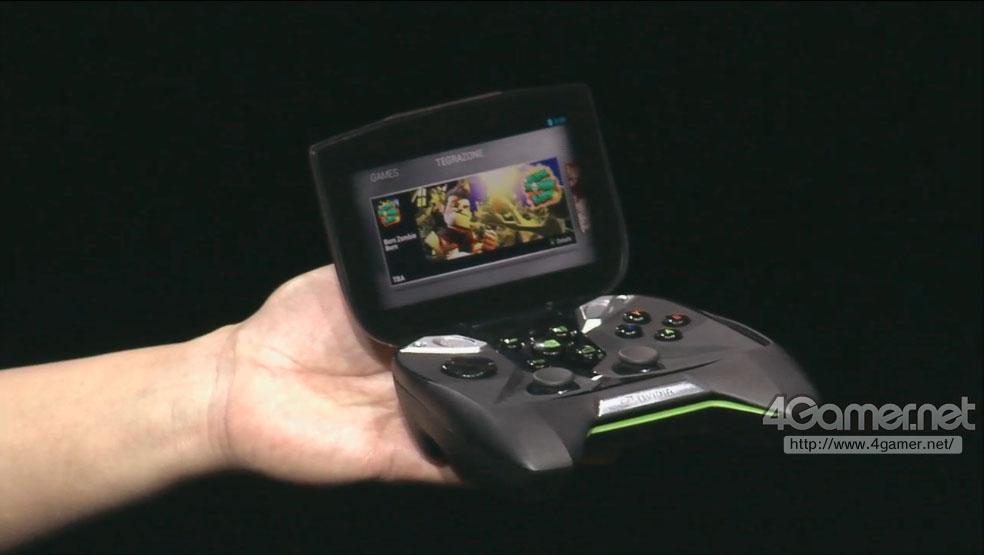 【ゲハ2013】 NVIDIA、まさかの携帯ゲーム機「Project Shield」発表!【画像あり】
