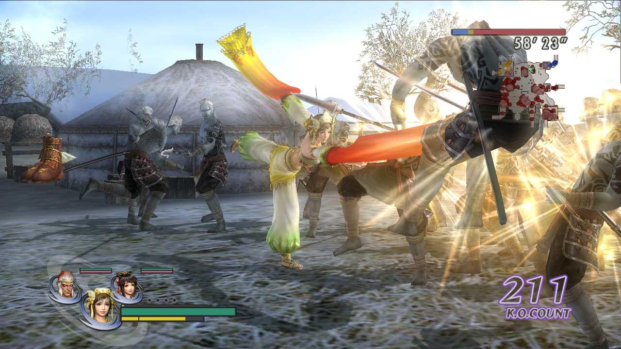 Gamekyo : warriors orochi z