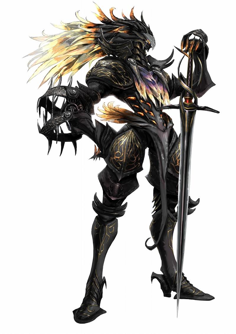 the white demon knight - photo #7