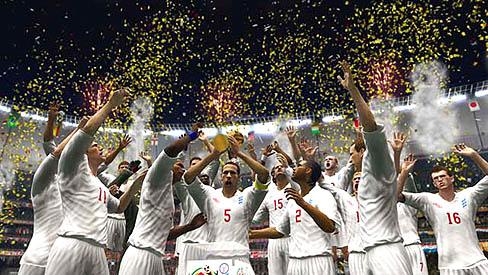 唯一の公認タイトル,「2010 FIFA ワールドカップ 南アフリカ大会」が明日発売。ゲーム版ワールドカップが一足お先に開幕だ