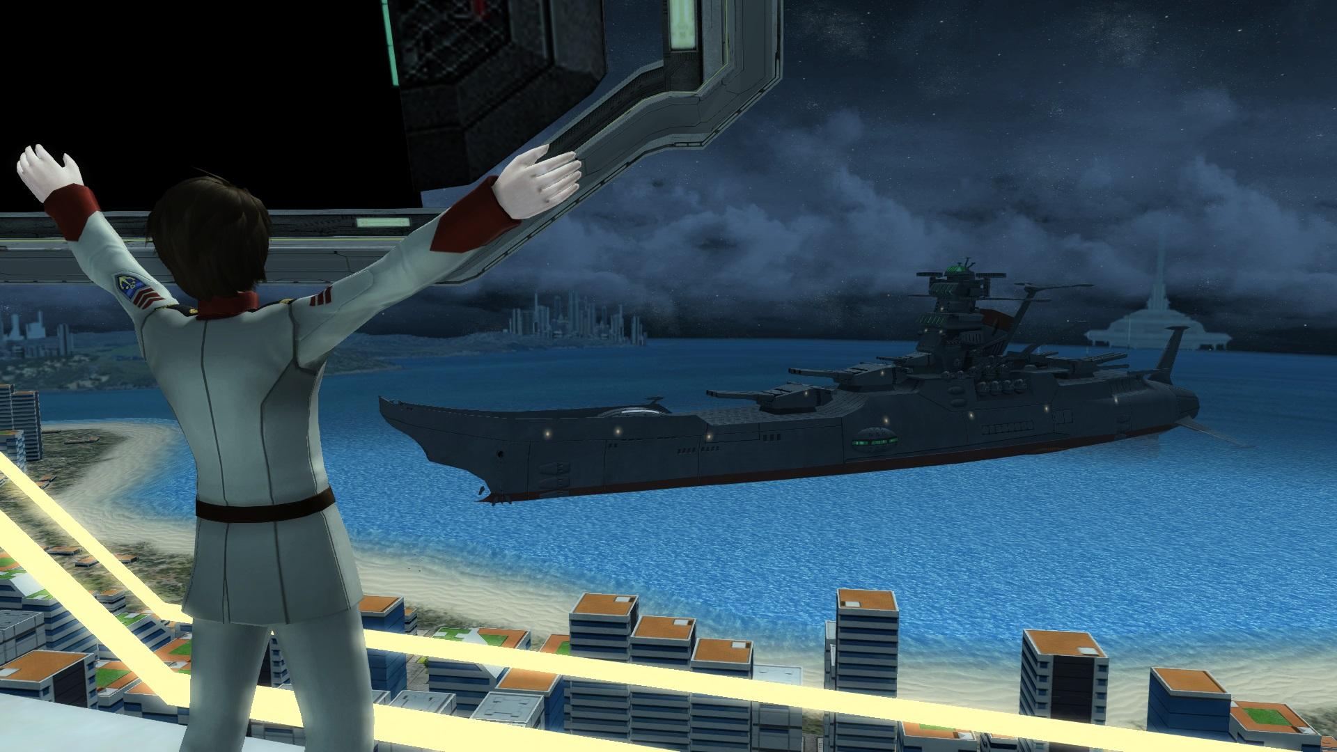 「ファンタシースターオンライン2」,アニメ「宇宙戦艦ヤマト2199」とのコラボがスタート。ロビーがクリスマス仕様に「ファンタシースターオンライン2」,アニメ「宇宙戦艦ヤマト2199」とのコラボがスタート。ロビーがクリスマス仕様に