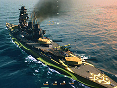 ��TGS 2015�ϡ�World of Warships�פ˥���ڥ����Ρ֥��󥴥��פ��о졣��World of Tanks�פο�����ѥ�MOD�ȹ�碌�Ƽ̿��ǥ����å�