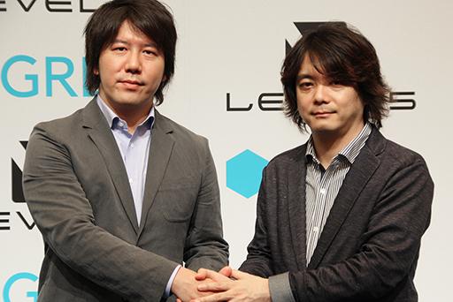 4Gamer.net — 「これでダメならソーシャルゲームは諦める」とレベルファイブ 日野晃博氏が語った。「グリー×レベルファイブ共同発表会」レポート