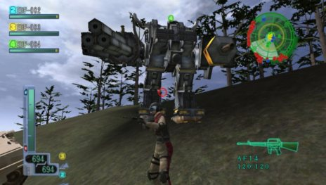 地球防衛軍3 PORTABLE