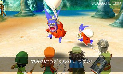 014 De första skärmbilderna från Dragon Quest VII till 3DS