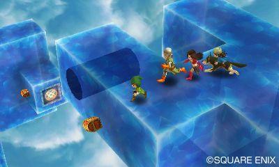 3DSドラクエ7が神ゲーの予感 シンボルエンカウント、転職、装備で見た目変更、すれちがい石版等