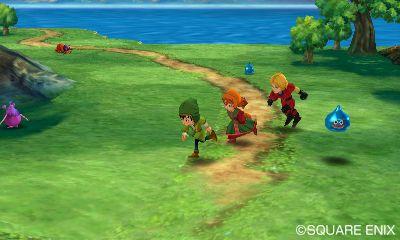 009 De första skärmbilderna från Dragon Quest VII till 3DS