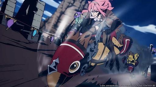 """动画""""最终幻想XIV""""。由Yuhei Kaburagi和Kitaro Takasaka制作的TVCM今天开始 -  4Gam -003"""