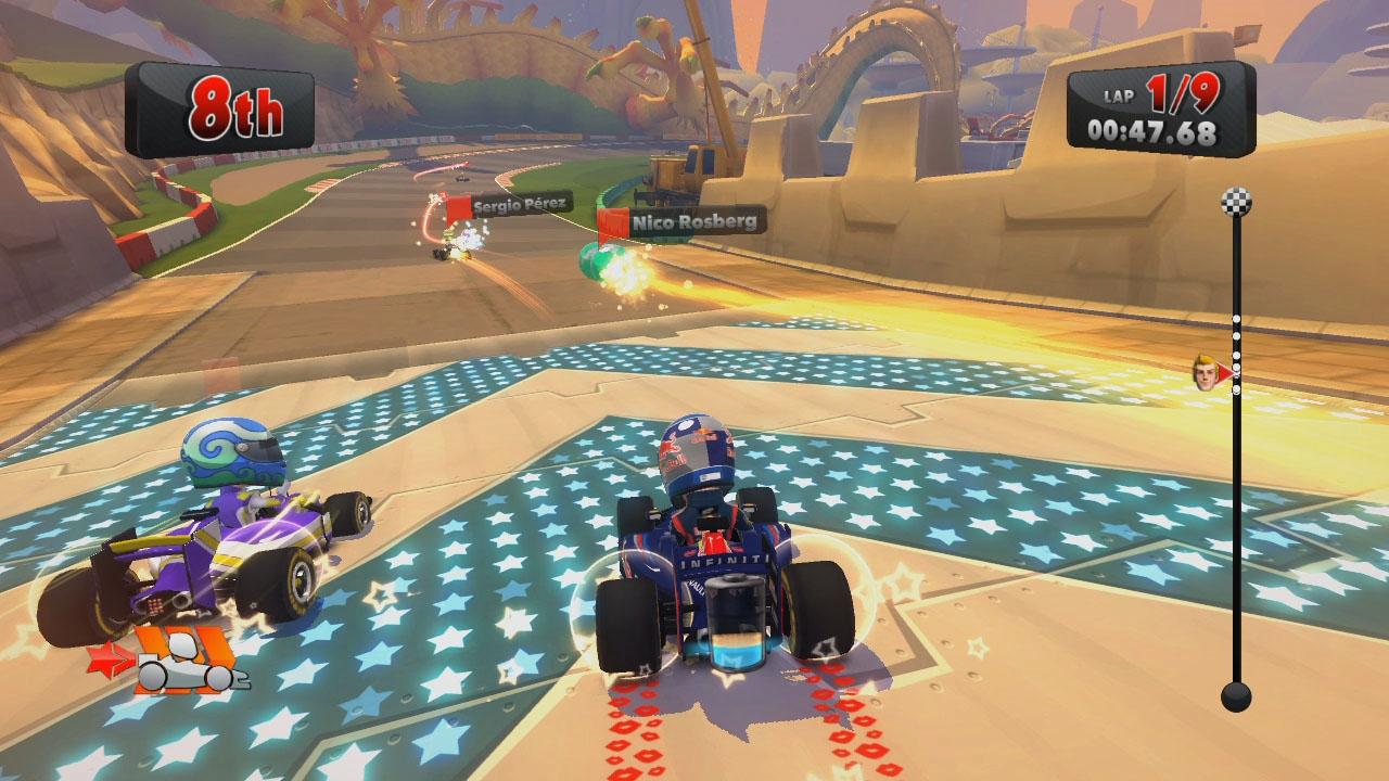 WiiUの新作キタ━━━━(゚∀゚)━━━━!! レースゲームでゲームパッドでこの使い方は神!!!