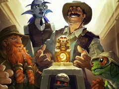 「Hearthstone」探検をテーマにした新アドベンチャー「League of Explorers」が発表