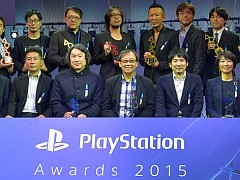 「PlayStation Awards 2015」が開催。100万本達成の「Platinum Prize」は,「METAL GEAR SOLID V: THE PHANTOM PAIN」など3タイトル