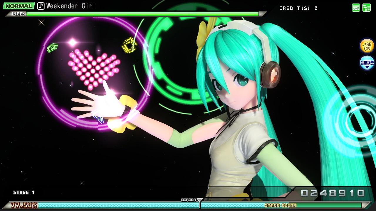 """初音ミク Project DIVA Arcade Future Tone SPMフィギュア""""CA 初音ミク""""☆"""