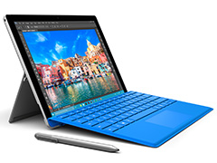 Microsoft���������֥�å�PC��Surface Pro 4�פ�ȯɽ��Skylake��ܤǤ��®����������������ڤ�