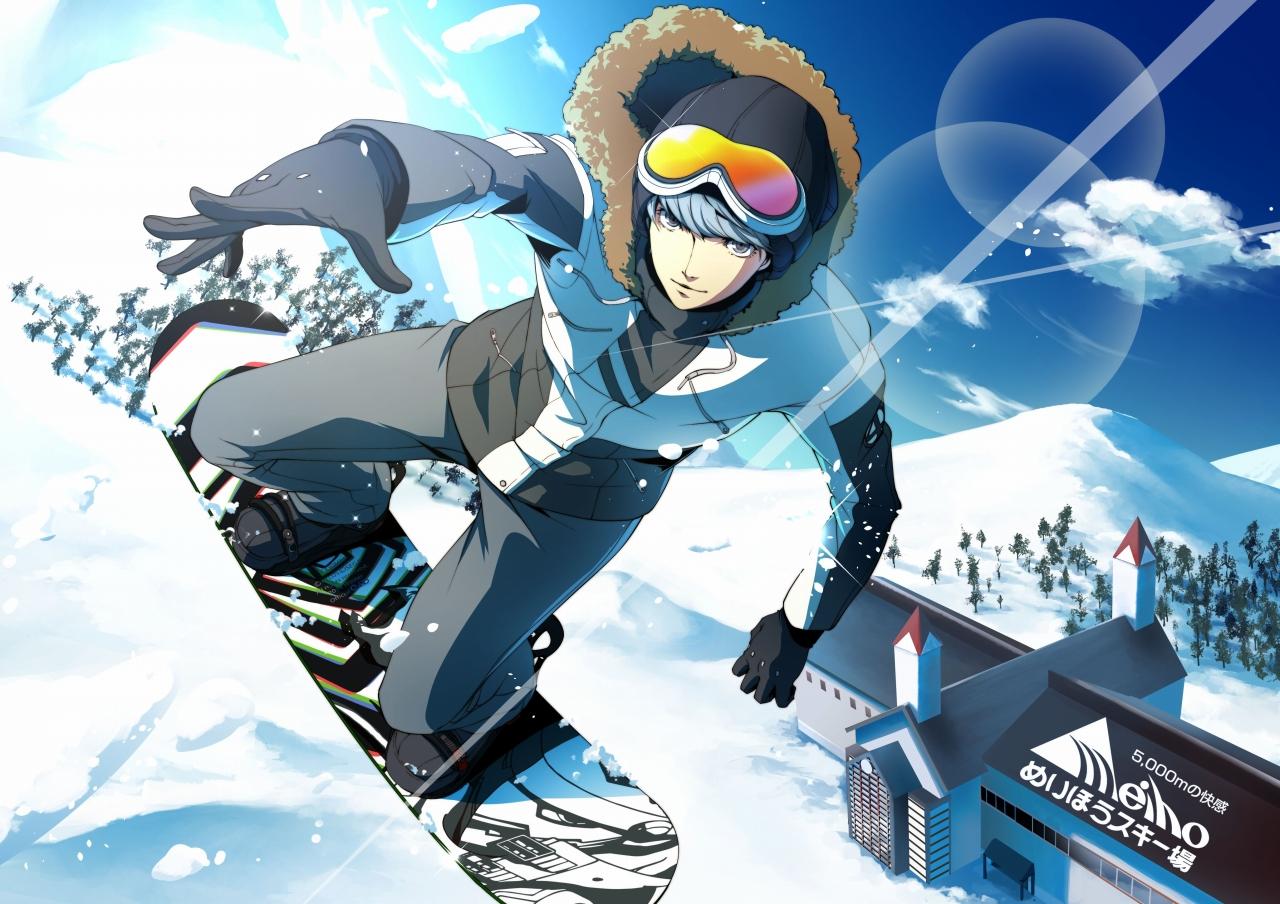 スキー イラスト かっこいい | 7331 イラス