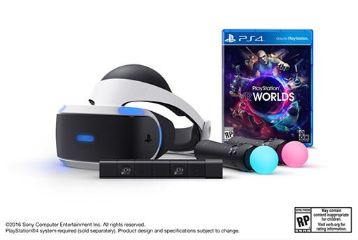 「PlayStation VR Launch Bundle」のプレオーダーが,北米で3月22日に開始