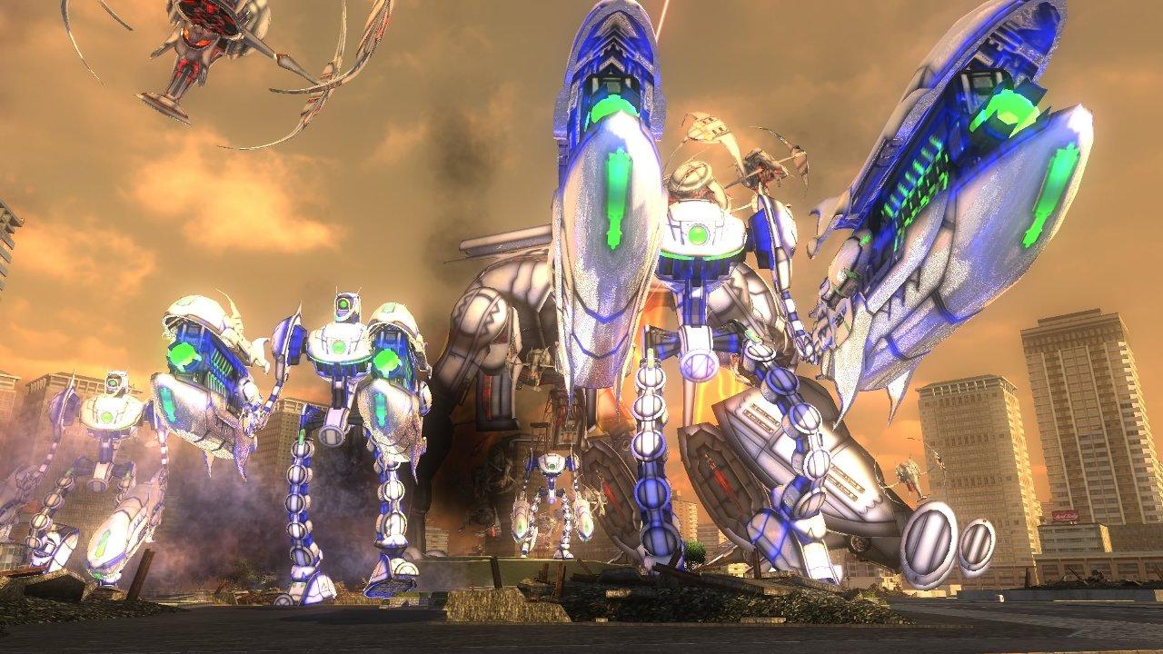「地球防衛軍4.1 THE SHADOW OF NEW DESPAIR」,巨大ロボットや200メートル超の移動要塞など,地球を襲う数々の敵兵器が公開「地球防衛軍4.1 THE SHADOW OF NEW DESPAIR」,巨大ロボットや200メートル超の移動要塞など,地球を襲う数々の敵兵器が公開