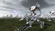 「地球防衛軍4.1 THE SHADOW OF NEW DESPAIR」,巨大ロボットや200メートル超の移動要塞など,地球を襲う数々の敵兵器が公開