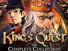 Sierra Games�ο����King��s Quest - Chapter 1: A Knight to Remember�פΥ?����ȥ쥤�顼����