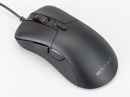 画像(001)東プレ初の静電容量式スイッチ採用マウス「REALFORCE MOUSE」がついに登場。ソフトで静かなクリックが特徴だ