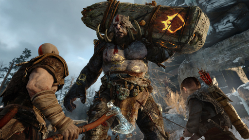 E3 2016]「God of War」はリブ...