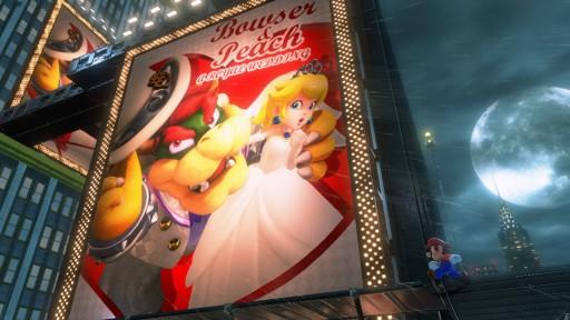 スーパーマリオ オデッセイ. なんと,クッパとピーチ姫がウェディング!?