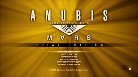ANUBIS ZONE OF THE ENDERS:M∀RS