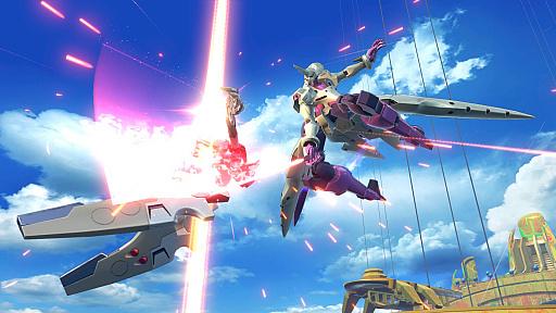 """G-Lucifer""出现在""机动战士Gundam Extreme Versus 2""中,G的Recon Gista。在6月27日更新-4Gamer中添加 -002"