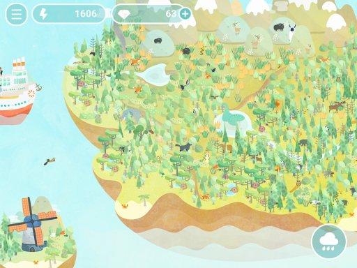 島を発展させる育成シミュレーション「デザートピア」の配信がスタート