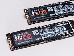 「SSD 970 PRO」「SSD 970 EVO」レビュー。SSD 960シリーズと比べ,劇的ではないが確実に高速化を果たす