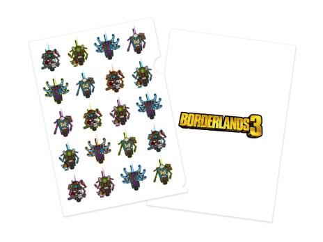 """日本限量版""""Borderlands 3""""重点艺术和主要人物配音演出发布。其中一个主角""""Moz""""负责网络女孩Shiro-4Gam -008"""