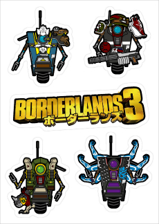 """日本限量版""""Borderlands 3""""重点艺术和主要人物配音演出发布。其中一个主角""""Moz""""负责网络女孩Shiro-4Gam -009"""