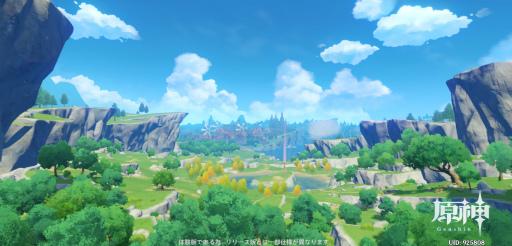 画像(001)「原神」CBTをプレイ。7つの元素で満ちた美しい世界を,スピード感あふれるアクションで冒険しよう!