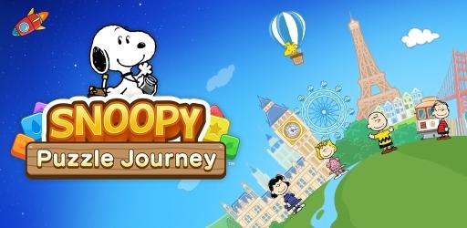 画像(001)スヌーピーのカジュアルゲーム第4弾「スヌーピー パズルジャーニー」が3月中に配信決定。事前登録受付中