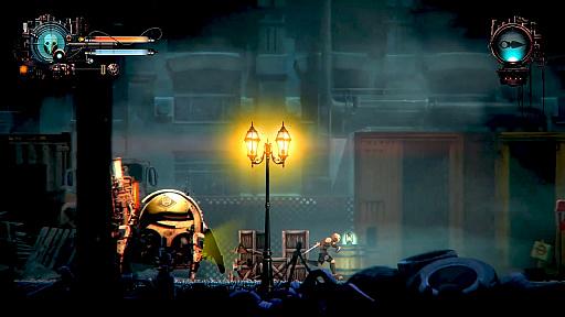画像(004)「SteamDolls - Order Of Chaos」のKickstarterキャンペーンが開始。俳優のデヴィッド・ヘイター氏が主人公の声を務めるダークメトロイドヴァニア
