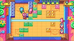 画像(001)PS4&Switch版「プッシー&プリー・イン・ブロックランド」が2020年7月2日にリリース。レトロな雰囲気を持つ協力型パズルゲーム