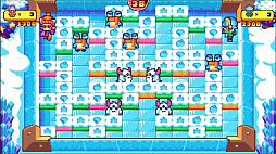 画像(002)PS4&Switch版「プッシー&プリー・イン・ブロックランド」が2020年7月2日にリリース。レトロな雰囲気を持つ協力型パズルゲーム