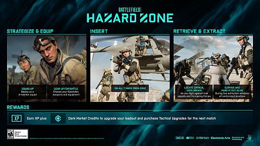 画像集#001のサムネイル/「バトルフィールド 2042」,新モード「ハザードゾーン」の詳細が公開。データドライブを回収し,生還を目指す分隊ベースのゲームモード