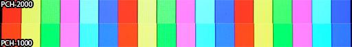 Сравнение LCD-дисплея PS Vita「PCH-2000」и OLED-дисплея「PCH-1000」