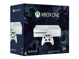 白色のXbox One本体と「Halo: The Master Chief Collection」のダウンロード版がセットの限定モデル,2月19日に発売