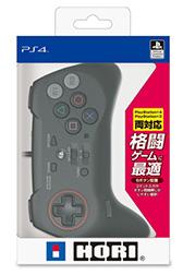 HORI,格闘ゲーム用の左右非対称ゲームパッド「ファイティングコマンダー」のPS4&PS3両対応版