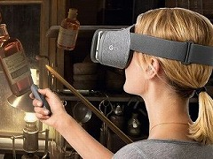 「Daydream View」の実機を一足早く体験。J.K.ローリング氏監修の「Fantastic Beasts and Where to Find Them」は従来のモバイルVRを超えた美しさに