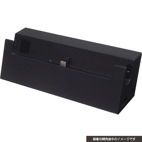 サイバーガジェット,Switch本体を取り付けて使える有線LANポート搭載ドックを12月下旬に発売