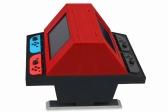 2台のNintendo Switchを装着して「対戦台」化できるアーケード筐体風スタンドが5月下旬発売予定