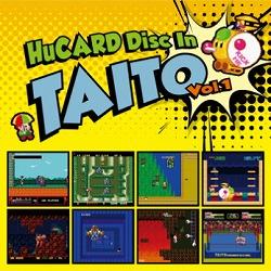 タイトーのPCエンジン用ソフトの楽曲を収録した「HuCARD Disc In TAITO Vol.2」が7月26日発売